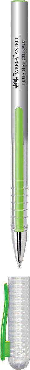 Faber-Castell Ручка гелевая True Gel цвет чернил салатовый72523WDГелевая ручка Faber-Castell True Gel имеет наконечник 0,7 мм. Ручка обладает очень мягким письмом.Ручка имеет водостойкие и светостойкие чернила; эргономичную зону захвата; колпачок с упругим клипом.