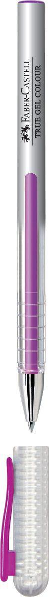 Faber-Castell Ручка гелевая True Gel цвет чернил фиолетовый72523WDГелевая ручка Faber-Castell True Gel имеет наконечник 0,7 мм. Ручка обладает очень мягким письмом.Ручка имеет водостойкие и светостойкие чернила; эргономичную зону захвата; колпачок с упругим клипом.