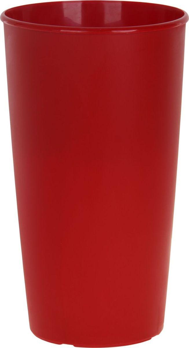 Горшок для цветов ТЕК.А.ТЕК Le Cone, цвет: красный, 41 лA6483LM-6WHЛюбой, даже самый современный и продуманный интерьер будет не завершённым без растений. Они не только очищают воздух и насыщают его кислородом, но и заметно украшают окружающее пространство. Такому полезному члену семьи просто необходимо красивое и функциональное кашпо, оригинальный горшок или необычная ваза! Мы предлагаем - Горшок для цветов Le Cone 41 (18) л, цвет красный! Оптимальный выбор материала пластмасса! Почему мы так считаем? Малый вес. С лёгкостью переносите горшки и кашпо с места на место, ставьте их на столики или полки, подвешивайте под потолок, не беспокоясь о нагрузке. Простота ухода. Пластиковые изделия не нуждаются в специальных условиях хранения. Их легко чистить достаточно просто сполоснуть тёплой водой. Никаких царапин. Пластиковые кашпо не царапают и не загрязняют поверхности, на которых стоят. Пластик дольше хранит влагу, а значит растение реже нуждается в поливе. Пластмасса не пропускает воздух корневой системе растения не грозят резкие перепады температур. Огромный выбор форм, декора и расцветок вы без труда подберёте что-то, что идеально впишется в уже существующий интерьер. Соблюдая нехитрые правила ухода, вы можете заметно продлить срок службы горшков, вазонов и кашпо из пластика: всегда учитывайте размер кроны и корневой системы растения (при разрастании большое растение способно повредить маленький горшок)берегите изделие от воздействия прямых солнечных лучей, чтобы кашпо и горшки не выцветалидержите кашпо и горшки из пластика подальше от нагревающихся поверхностей. Создавайте прекрасные цветочные композиции, выращивайте рассаду или необычные растения, а низкие цены позволят вам не ограничивать себя в выборе.