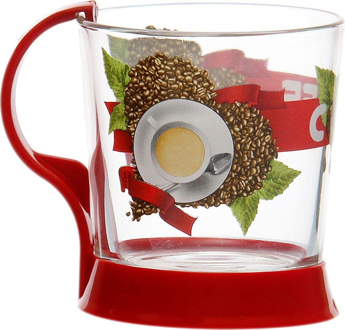 Кружка для чая Декостек Сoffee hear, 250 мл. 1781332VT-1520(SR)От качества посуды зависит не только вкус еды, но и здоровье человека. Кружка чайная — товар, соответствующий российским стандартам качества. Любой хозяйке будет приятно держать его в руках. С нашей посудой и кухонной утварью приготовление еды и сервировка стола превратятся в настоящий праздник.