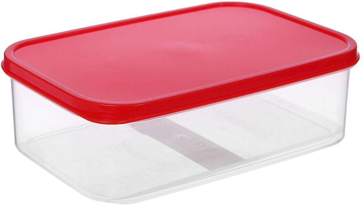 Контейнер пищевой Доляна, цвет: красный 1,2 лVT-1520(SR)Если после вкусного обеда осталась еда, а насладиться трапезой хочется и на следующий день, ланч-бокс станет отличным решением данной проблемы!Такой контейнер является незаменимым предметом кухонной утвари, ведь у него много преимуществ:Простота ухода. Ланч-бокс достаточно промыть тёплой водой с небольшим количеством чистящего средства, и он снова готов к использованию.Вместительность. Большой выбор форм и объёма поможет разместить разнообразные продукты от сахара до супов.Эргономичность. Ланч-боксы очень легко хранить даже в самой маленькой кухне, так как их можно поставить один в другой по принципу матрёшки.Многофункциональность. Разнообразие цветов и форм делает возможным использование контейнеров не только на кухне, но и в других областях домашнего быта.Любители приготовления обеда на всю семью в большинстве случаев приобретают ланч-боксы наборами, так как это позволяет рассортировать продукты по всевозможным признакам. К тому же контейнеры среднего размера станут незаменимыми помощниками на работе: ведь что может быть приятнее, чем порадовать себя во время обеда прекрасной едой, заботливо сохранённой в контейнере?В качестве материала для изготовления используется пластик, что делает процесс ухода за контейнером ещё более эффективным. К каждому ланч-боксу в комплекте также прилагается крышка подходящего размера, это позволяет плотно и надёжно удерживать запах еды и упрощает процесс транспортировки.Однако рекомендуется соблюдать и меры предосторожности: не использовать пластиковые контейнеры в духовых шкафах и на открытом огне, а также не разогревать в микроволновых печах при закрытой крышке ланч-бокса. Соблюдение мер безопасности позволит продлить срок эксплуатации и сохранить отличный внешний вид изделия.Эргономичный дизайн и многофункциональность таких контейнеров — вот, что является причиной большой популярности данного предмета у каждой хозяйки. А в преддверии лета и дачного сезона такое приобретение по