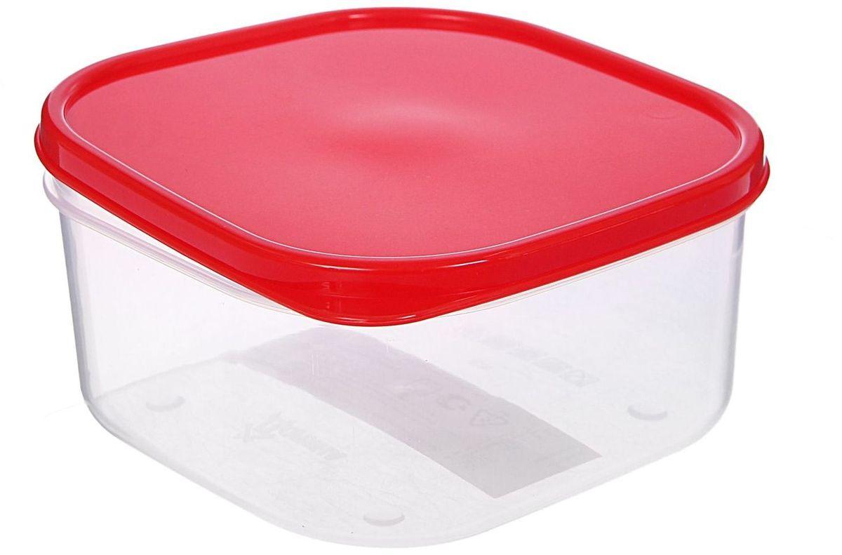 Контейнер пищевой Доляна, цвет: красный, 700 млVT-1520(SR)Если после вкусного обеда осталась еда, а насладиться трапезой хочется и на следующий день, ланч-бокс станет отличным решением данной проблемы!Такой контейнер является незаменимым предметом кухонной утвари, ведь у него много преимуществ:Простота ухода. Ланч-бокс достаточно промыть тёплой водой с небольшим количеством чистящего средства, и он снова готов к использованию.Вместительность. Большой выбор форм и объёма поможет разместить разнообразные продукты от сахара до супов.Эргономичность. Ланч-боксы очень легко хранить даже в самой маленькой кухне, так как их можно поставить один в другой по принципу матрёшки.Многофункциональность. Разнообразие цветов и форм делает возможным использование контейнеров не только на кухне, но и в других областях домашнего быта.Любители приготовления обеда на всю семью в большинстве случаев приобретают ланч-боксы наборами, так как это позволяет рассортировать продукты по всевозможным признакам. К тому же контейнеры среднего размера станут незаменимыми помощниками на работе: ведь что может быть приятнее, чем порадовать себя во время обеда прекрасной едой, заботливо сохранённой в контейнере?В качестве материала для изготовления используется пластик, что делает процесс ухода за контейнером ещё более эффективным. К каждому ланч-боксу в комплекте также прилагается крышка подходящего размера, это позволяет плотно и надёжно удерживать запах еды и упрощает процесс транспортировки.Однако рекомендуется соблюдать и меры предосторожности: не использовать пластиковые контейнеры в духовых шкафах и на открытом огне, а также не разогревать в микроволновых печах при закрытой крышке ланч-бокса. Соблюдение мер безопасности позволит продлить срок эксплуатации и сохранить отличный внешний вид изделия.Эргономичный дизайн и многофункциональность таких контейнеров — вот, что является причиной большой популярности данного предмета у каждой хозяйки. А в преддверии лета и дачного сезона такое приобретение 