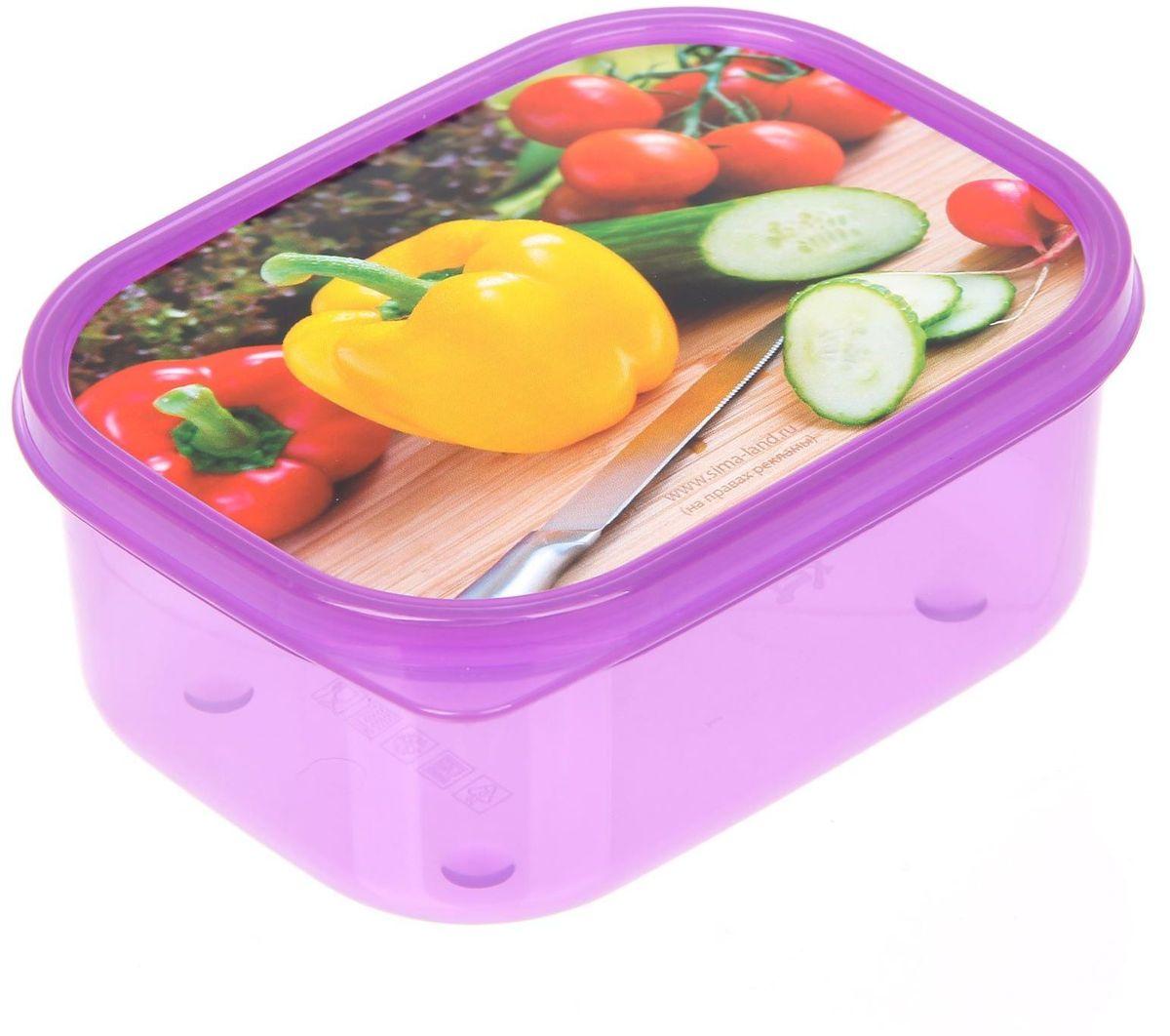 Ланч-бокс Доляна №18, прямоугольный, 500 млVT-1520(SR)Если после вкусного обеда осталась еда, а насладиться трапезой хочется и на следующий день, ланч-бокс станет отличным решением данной проблемы!Такой контейнер является незаменимым предметом кухонной утвари, ведь у него много преимуществ:Простота ухода. Ланч-бокс достаточно промыть тёплой водой с небольшим количеством чистящего средства, и он снова готов к использованию.Вместительность. Большой выбор форм и объёма поможет разместить разнообразные продукты от сахара до супов.Эргономичность. Ланч-боксы очень легко хранить даже в самой маленькой кухне, так как их можно поставить один в другой по принципу матрёшки.Многофункциональность. Разнообразие цветов и форм делает возможным использование контейнеров не только на кухне, но и в других областях домашнего быта.Любители приготовления обеда на всю семью в большинстве случаев приобретают ланч-боксы наборами, так как это позволяет рассортировать продукты по всевозможным признакам. К тому же контейнеры среднего размера станут незаменимыми помощниками на работе: ведь что может быть приятнее, чем порадовать себя во время обеда прекрасной едой, заботливо сохранённой в контейнере?В качестве материала для изготовления используется пластик, что делает процесс ухода за контейнером ещё более эффективным. К каждому ланч-боксу в комплекте также прилагается крышка подходящего размера, это позволяет плотно и надёжно удерживать запах еды и упрощает процесс транспортировки.Однако рекомендуется соблюдать и меры предосторожности: не использовать пластиковые контейнеры в духовых шкафах и на открытом огне, а также не разогревать в микроволновых печах при закрытой крышке ланч-бокса. Соблюдение мер безопасности позволит продлить срок эксплуатации и сохранить отличный внешний вид изделия.Эргономичный дизайн и многофункциональность таких контейнеров — вот, что является причиной большой популярности данного предмета у каждой хозяйки. А в преддверии лета и дачного сезона такое приобретение позв
