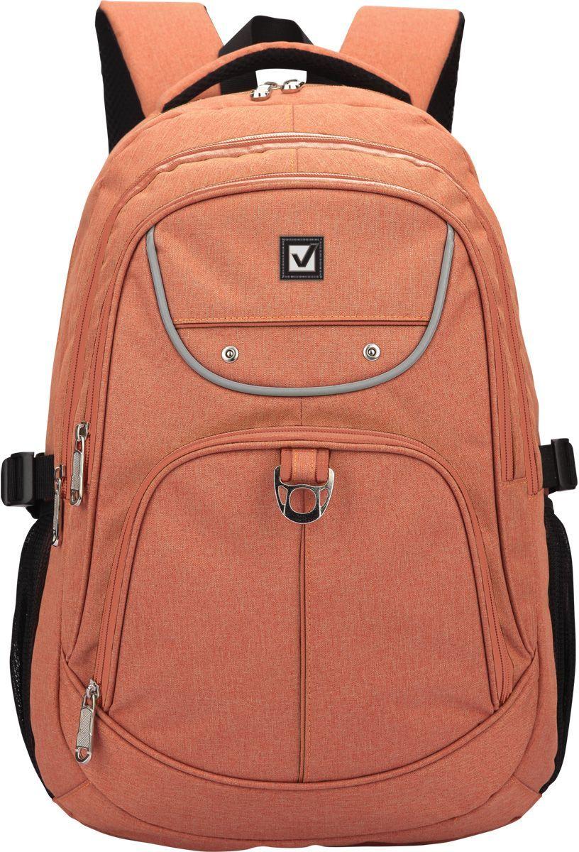 Brauberg Рюкзак КаньонSMA510-V8-ETПрактичный рюкзак подойдет тем, кто любит комфорт и вместительность, но, при этом, имеет индивидуальное чувство стиля.•2 отделения, 4 кармана. •Формоустойчивая спинка. •Ремни регулировки объема. •Водоотталкивающая ткань. •Размер: 46х34х18 см. •Объем: 30 литров.