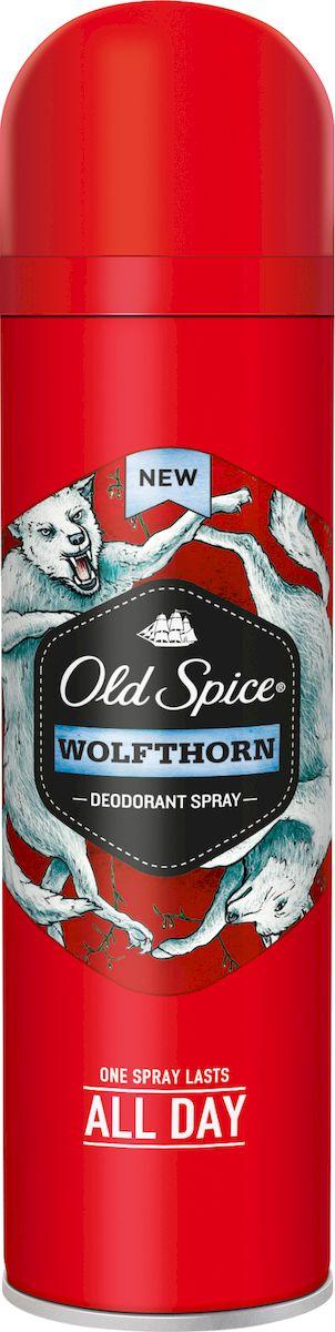 Old Spice Дезодорант-спрей Wolfthorn, 150 млБ63002Дезодорант-спрей Old Spice Wolfthorn 1 пшик на весь день. Помогает в борьбе с неприятным запахом пота. Великолепный аромат предназначен только для настоящих мужчин.Ночь кишит романтическими тайнами, но самая романтическая из них – это тайна ночного волка. Поэтому Old Spice Wolfthorn – самый дикий из романтически таинственных ароматов. Характеристики:Объем: 150 мл. Производитель: Великобритания. Товар сертифицирован.