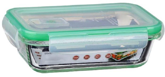 Контейнер для продуктов Elff Decor, цвет: зеленый, 500 млVT-1520(SR)Контейнер для хранения и запекания с вакуумной крышкой Изготовлена из жаропрочного стекла Температурный режим:-40С до 200С Размер: 17,1 х 12 х 4,6 см Объем-0,5 л