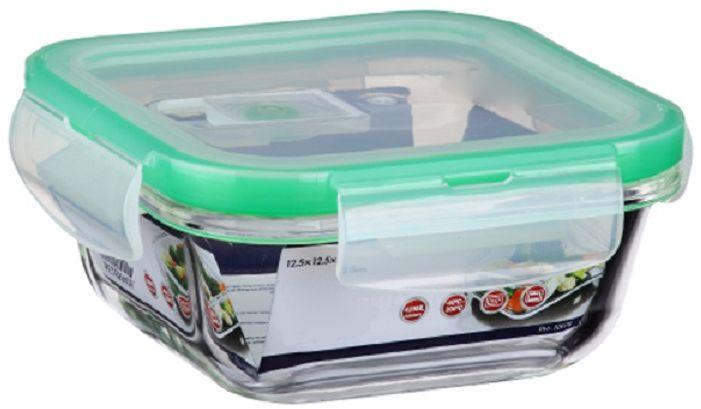 Контейнер для продуктов Elff Decor, цвет: зеленый, 1 лVT-1520(SR)Контейнер для хранения и запекания с вакуумной крышкой Изготовлена из жаропрочного стекла Температурный режим:-40С до 200С Размер: 16 х 16,6 х 6,3 см Объем-1,0 л