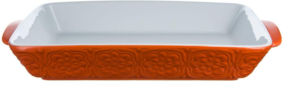 Форма для запекания Elff Decor, овальная, цвет: оранжевый, 1,75 лCM000001328Форма для запекания Изготовлена из жаропрочной керамики Размер: 21,5 см х 31,3 см х 5,3 см Объем-1,75 л