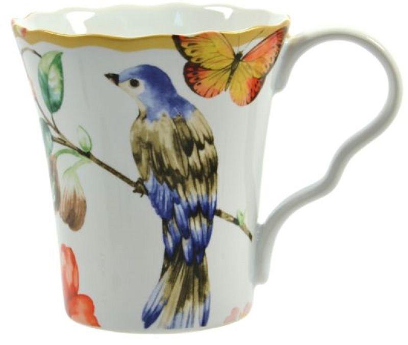 Кружка Elff Decor Дивная птица, 35 0млVT-1520(SR)Кружка из серии посуды DELI превратит ваше чаепитие в утончённую трапезу и позволит вам вдохнуть атмосферу загадочного неповторимого Востока.