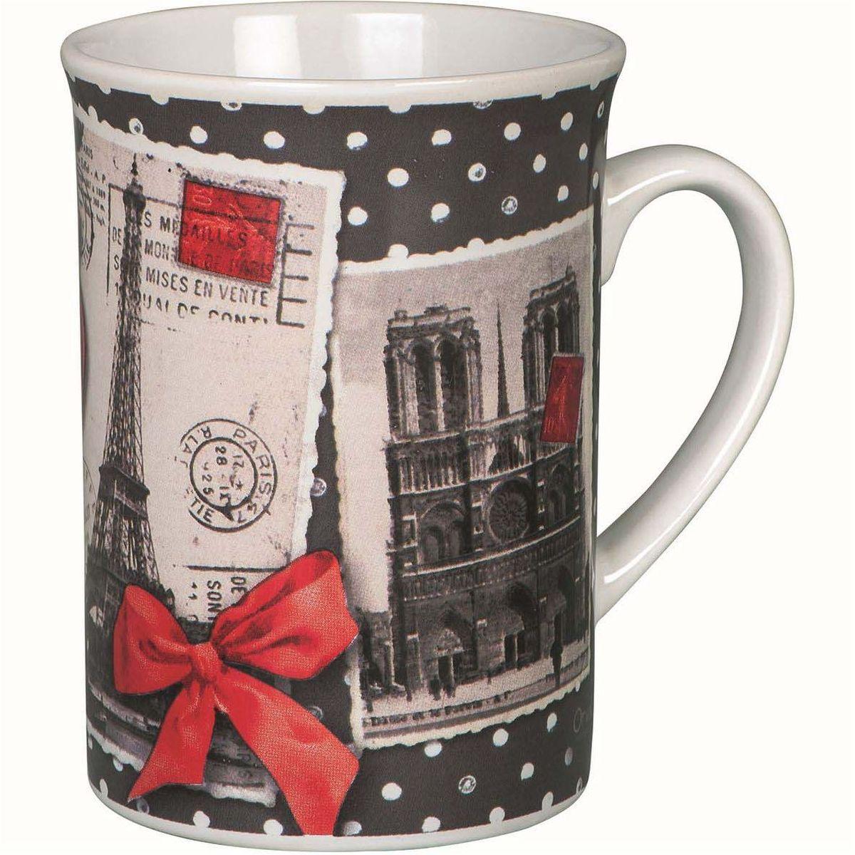 Кружка ORVAL Воспоминания о Париже, 270 млVT-1520(SR)Кружка украсит Ваш ежедневный завтрак или чашку чая или кофе Изящное дополнение к своей столовой посуде