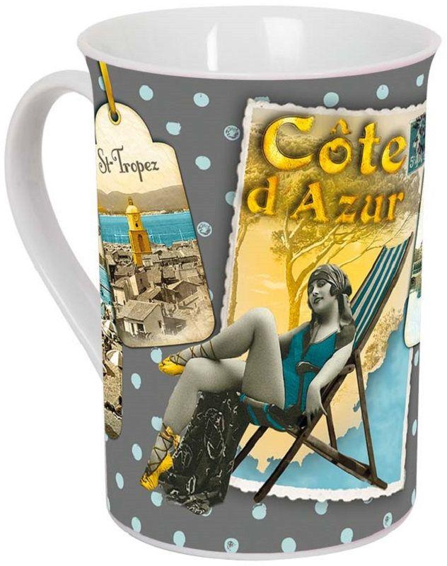 Кружка ORVAL Лазурный берег, 270 мл115510Кружка украсит Ваш ежедневный завтрак или чашку чая или кофе Изящное дополнение к своей столовой посуде