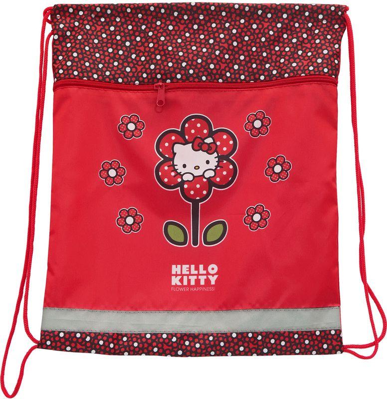 Action! Сумка для сменной обуви Hello Kitty HKO-ASS4301/5652-SBНа лицевой стороне большой карман на молнии. Размер 34х43 см