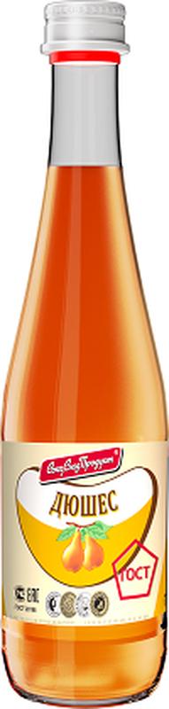 СоюзСладПродукт напиток Дюшес, 0,5 л0120710Произведен по ГОСТ. Произведен на глюкозно-фруктозном сиропе. Без подсластителей. Без консервантов. Имеет яркий привлекательный внешний вид. Стильный винтовой колпак, делает открывание мягким и комфортным.