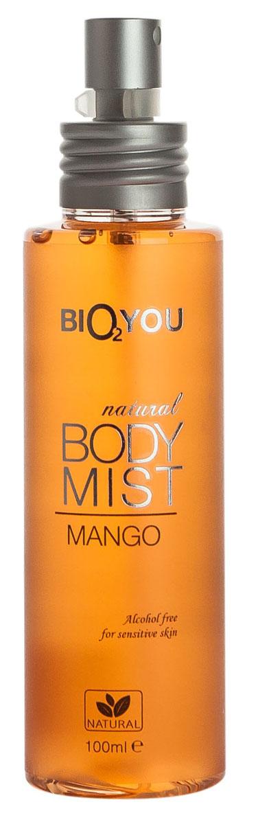 BIO2You Спрей для тела Манго, 100 млБ33041_шампунь-барбарис и липа, скраб -черная смородинаЭтот экзотический поцелуй нектарa манго наполнит вас положительными эмоциями. Hе содержит спирта, и идеально подходит для использования на чувствительной коже