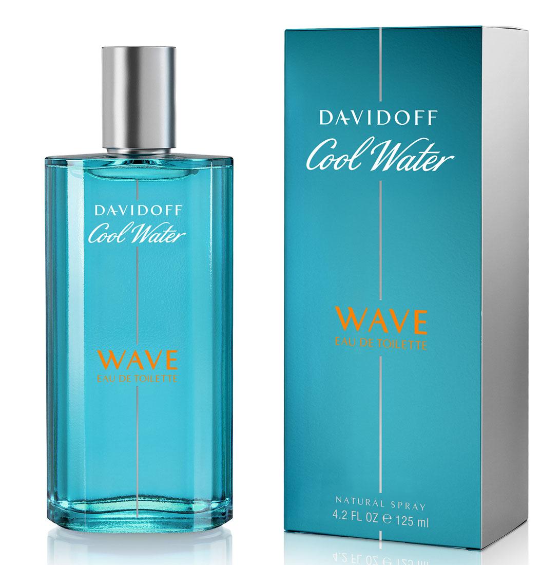 Davidoff Cool Water Wave Туалетная вода мужская 125 млперфорационные unisexЦвет флакона и упаковки светлее классического Davidoff Cool Water, символизируя цвет волны, на которой сёрфер оставляет свой шлейф.