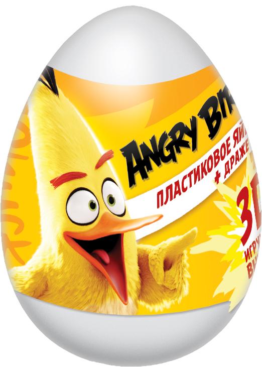 Angry Birds  Movieфруктовое драже с игрушкой, 20 г01207103D-игрушка Angry Birds movie в капсуле с лифлетом, 6 игрушек в коллекции.