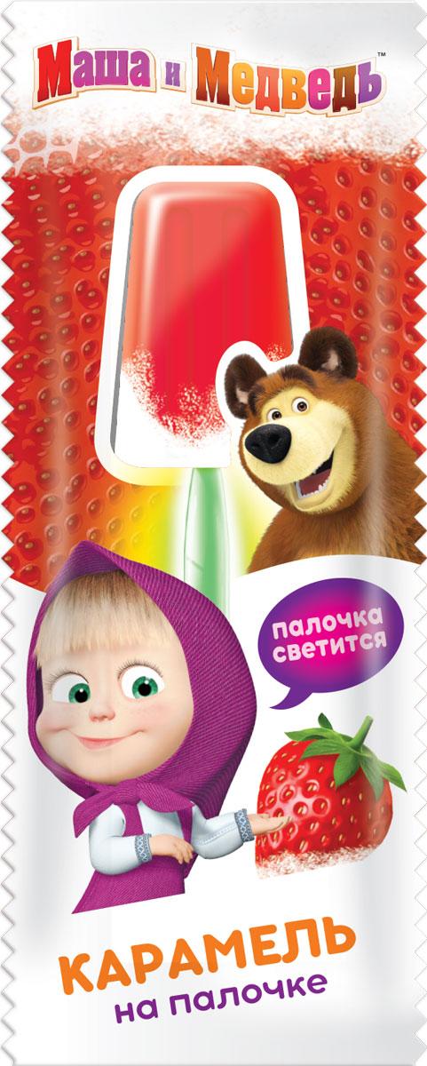 Маша и Медведь фруктовая карамель на светящейся палочке , 24 штуки по 10 г01207103 вкуса карамели.Палочка из пластмассы и светится в темноте. Карамель надежно закреплена на палочке.
