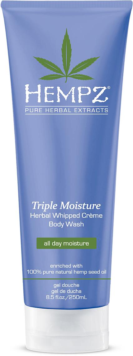 Hempz Гель для душа Тройное Увлажнение Triple Moisture Herbal Body Wash 250 млFS-00103Нежный увлажняющий крем-гель для душа тройного действия Hempz, обогащен 100% очищенным натуральным маслом конопляного семени и запатентованным комплексом для интенсивного увлажнения Triple Moisture Complex, в составе которого увлажняющее масло янгу, антивозрастной экстракт яблока и экстракт императы цилиндрической, богатый калием. Нежный крем-гель для душа тройного действия, мягко очищает даже очень сухую кожу и интенсивно увлажняет в течение 24 часов. Завораживающий аромат грейпфрута. Без парабенов, сульфатов и глютенов.Уважаемые клиенты!Обращаем ваше внимание на возможные изменения в дизайне упаковки. Качественные характеристики товара остаются неизменными. Поставка осуществляется в зависимости от наличия на складе.