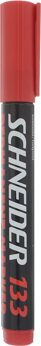 Schneider Маркер перманентный 133 цвет красныйFS-00897Заправляемый маркер Schneider для бумаги, картона, стекла, металла. Скошенный наконечник устойчив к повреждению и истиранию.Маркер имеет яркие и стойкие чернила красного цвета.Ширина линии 1-4 мм.