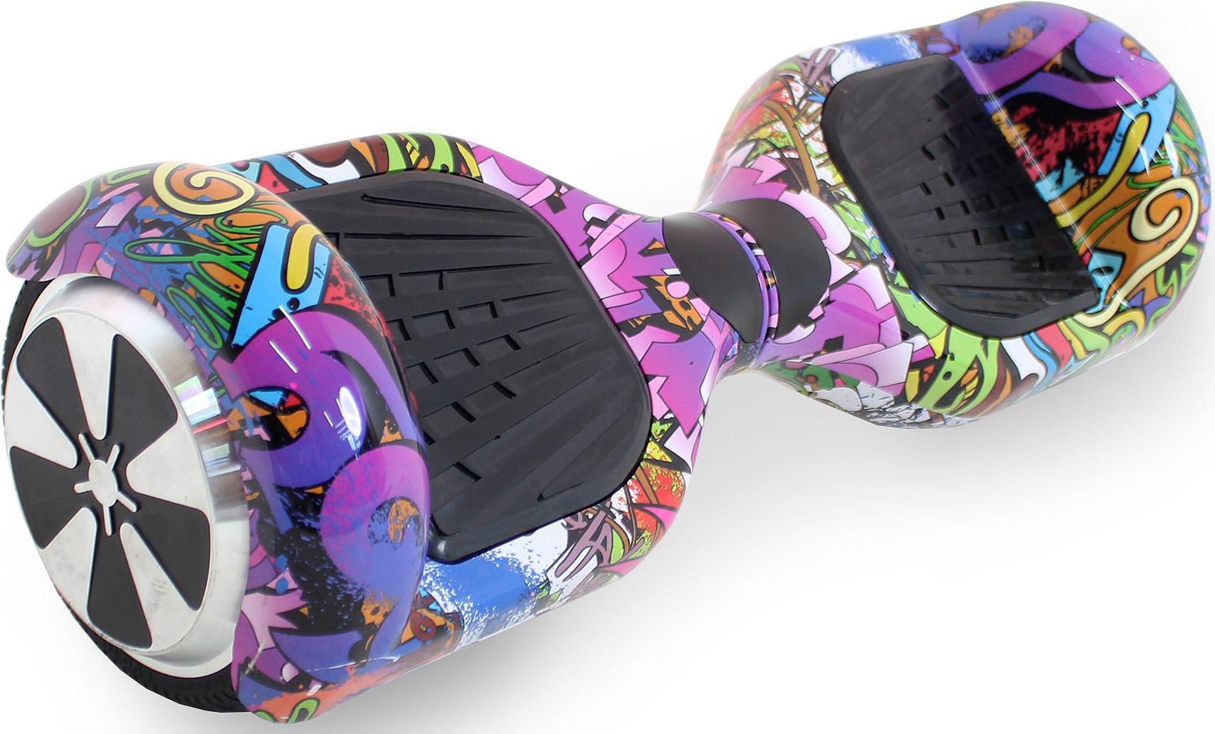 Гироскутер Hoverbot A-3 Light, цвет: Purple Multicolor (пурпурный, мультиколор)AIRWHEEL X8-170WH-WHITEГироскутер Hoverbot А-3 Light это абсолютно новое и самое современное устройство в классе 6,5 колёс. Данный гаджет оснащен очень мощным мотором и высокочувствительными датчиками. Такое сочетание характеристик дало возможность вашему А-3 Light шустро ездить по дорогам даже при максимальной нагрузке 120 кг. При производстве мы используем только самые качественные комплектующие известных производителей. Светящиеся габаритные огни сделают Вас ярче всех, а также выделят в любой тусовке!!! Так же гироскутер оснащен Bluetooth технологией и очень хорошей колонкой, просто подключите ваш гаджет к устройству и наслаждайтесь любимой музыкой на полную мощность!!! Такая модель как Hoverbot А-3 Light идеально подойдёт как для профессионалов, так и для начинающих райдеров. В комплекте идет сумка для переноски устройства и имеется пульт управления, для более удобного использования. Теперь вы всегда будете ярко выделяться на гироскутере Hoverbot А-3 Light, и наслаждаться любимой музыкой в дороге.