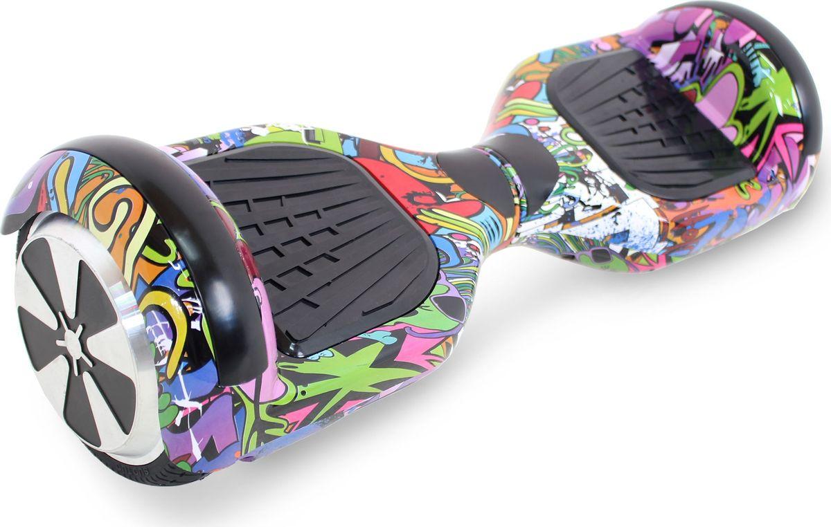 Гироскутер Hoverbot A-3 LED Light, цвет: Purple Multicolor (пурпурный, мультиколор)AIRWHEEL Q3-340WH-BLACKГироскутер Hoverbot А-3 LED Light это абсолютно новое и самое современное устройство в классе 6,5 колёс. Данный гаджет оснащен очень мощным мотором и высокочувствительными датчиками. Такое сочетание характеристик дало возможность вашему А-3 LED Light шустро ездить по дорогам даже при максимальной нагрузке 120 кг. При производстве мы используем только самые качественные комплектующие известных производителей. Яркая и разноцветная LED подсветка на крыльях сделает вас заметным при езде в темное время суток, осветит путь, а так же выделит вас в любой тусовке. Так же Гироскутер оснащен Bluetooth технологией и очень хорошей колонкой для прослушивания любимой музыки на полную мощность!!! Такая модель как Hoverbot A-3 LED Light идеально подойдёт как для профессионалов, так и для начинающих райдеров. В комплекте идет сумка для переноски устройства и имеется пульт управления, для более удобного использования. Теперь вы всегда будете ярко выделяться, используя Гироскутер Hoverbot А-3 LED Light, а также сможете насладиться любимой музыкой в дороге.