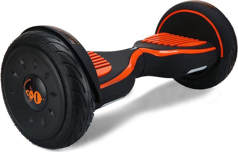 Гироскутер Hoverbot C-2, цвет: Matte Black Orange (матовый черно-оранжевый)AIRWHEEL Q3-340WH-BLACKГироскутер Hoverbot С-2 это стильный дизайн, неизменное качество, мощность и отличная управляемость, более высокая степень пыле- и влаго- защиты всех «жизненно» важных элементов гироскутера. Единственный в своем роде 10 внедорожник с мощными моторами в 1000W. Имеет дутый дизайн корпуса, который отлично вписывается как в городские условия, так и в ландшафт парковых зон. У гироскутера Hoverbot С-2 большие надувные колёса. В которых, при желании можно снизить давление воздуха и тем самым увеличить проходимость во внедорожных условиях, например, по песку или земле. Функция САМОБАЛАНСА при включении позволит автоматически приводить устройство рабочее положение. Дополнительная амортизация и широкая платформа под ногами помогают уверенней себя чувствовать и быть всегда на высоте. Разгон у гироскутера плавный, развивает максимальную скорость 16 км/ч. К Hoverbot C-2 можно подключиться по Bluetooth для прослушивания любимой музыки, различных аудиофайлов или радио. Так же для гироскутера C-2 разработано специальное мобильное приложение Hoverbot, которое позволяет подключиться к устройству и менять режимы работы - скорость, разгон, плавность хода и еще целый ряд параметров. Стандартный пароль для подключения к любому гироскутеру Hoverbot с приложением: 000000. Гаджет Hoverbot C-2 идеально подойдёт и ребёнку, и взрослому человеку как на начальном, так и на продвинутом уровне. Яркий, качественный, мощный. Это именно то что сочетает в себе флагманский гироскутер компании Hoverbot.