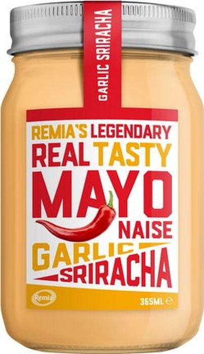 Remia майонез с чесноком и перцем чили, 365 мл0120710Пряный майонез с перцем чили, чесноком и лимоном. К рыбным блюдам, жареному картофелю или в качестве ДИП соуса