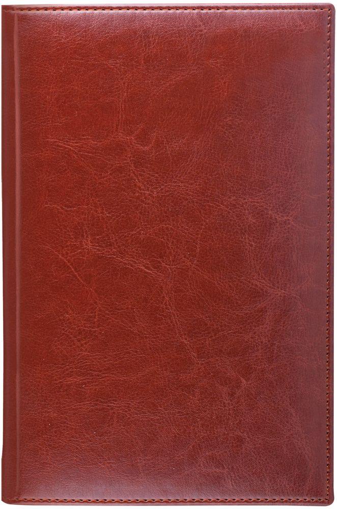 Brauberg Ежедневник Imperial 160 листов цвет коричневый формат A68361СВыполнена в классическом дизайне и является достойным аксессуаром делового человека. Мягкая обложка с легкой рельефной фактурой, напоминающей натуральную кожу, и внутренний блок из тонированной бумаги придаст солидности их обладателям.