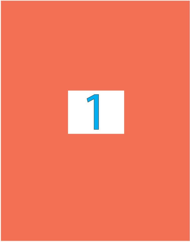 Brauberg Этикетка самоклеящаяся 21 х 29,7 см цвет красный 50 листов2010440Самоклеящиеся этикетки позволят быстро и качественно подготовить адресные наклейки, регистрационные номера, аннотации при помощи лазерного или струйного принтера. Совместимы со всеми видами офисной техники.