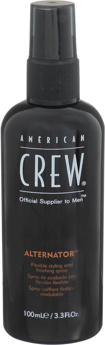 American Crew Спрей для волос Alternator 100 млFS-00897American Crew lternator Спрей для волос разработан и создан специально для лёгкого и удобного изменения причёски в любое время дня. Данное средство быстро смывается с помощью шампуня, имеет не липкую структуру, поэтому прекрасно подходит для ежедневного применения. Спрей для волос Американ Крю Alternator предназначен для умеренной фиксации волос, что позволяет корректировать причёску прямо при помощи рук и в любой удобный момент. Особые компоненты, входящие в состав спрея American Crew Alternator придают волосам мягкость, послушность, при этом не вызывая их сухость и повреждения, не раздражая кожу головы, а также обеспечивая причёске блеск и естественный здоровый цвет.Достаточно одиночного нанесения спрея Alternator для того, чтобы выполнять необходимый рейсталинг причёски в течении дня.Степень фиксации: умеренная фиксация.Уважаемые клиенты!Обращаем ваше внимание на возможные изменения в дизайне упаковки. Качественные характеристики товара остаются неизменными. Поставка осуществляется в зависимости от наличия на складе.