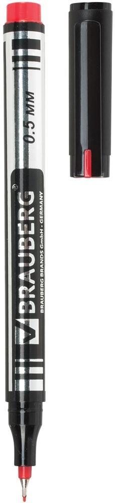 Brauberg Маркер перманентный Jet цвет красныйBL-SMA100-V7-ASСупертонкий металлический наконечник высокого качества прослужит дольше обычного. Благодаря меньшему размеру, он экономно расходует чернила и наносит надписи там, где не справляются маркеры с более толстыми наконечниками.Ширина линии письма - 0,5 мм. Супертонкий металлический наконечник. Цвет - красный. Быстросохнущие водостойкие чернила. Нетоксичен. Предназначен для письма на любой поверхности. Нестираемый.