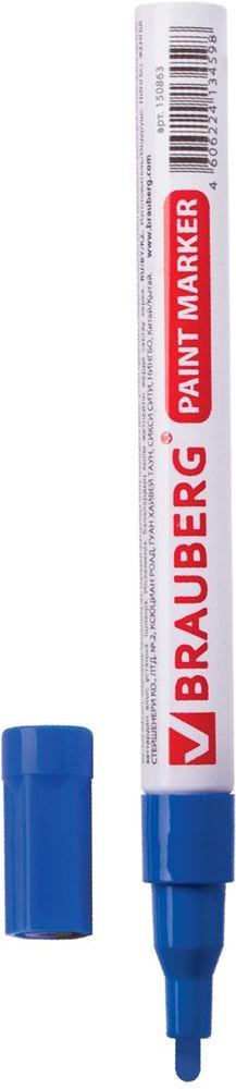 Brauberg Маркер-краска цвет синий 150864SMA510-V8-ETПредназначен для маркировки различных материалов в промышленных условиях: бетон, дерево, стекло, металл, резина, пластик. Пишет по сухим, влажным, жирным, грязным, ржавым поверхностям. Заправлен высококачественными стойкими чернилами с лаковым эффектом.Ширина линии письма - 1-2 мм. Цвет чернил - синий. Чернила с лаковым эффектом из Великобритании компании MULTICHEM. Отличаются термо- и водостойкостью, устойчивы к выцветанию. Алюминиевый корпус. Рабочий температурный диапазон - от -15° С до +60° С.