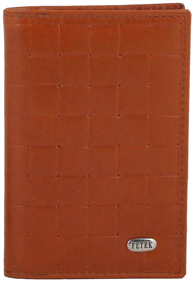 Визитница Petek 1855, цвет: карамель. 1044.023.37INT-06501Кредитница из качественного материала, рассчитанная на 8 карточек