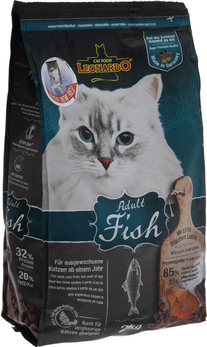 Корм сухой Leonardo Adult Sensetive для взрослых кошек от 1 года, на основе морской рыбы и риса, 2 кг0120710Сухой корм Leonardo Adult Sensetive предназначен для взрослых кошек с чувствительным пищеварением. С добавлением вкусного криля (креветок). За счет высокого содержания Омега-3 и Омега-6 жирных кислот улучшает качество кожи ишерсти. Снижает образование зубного камня и зубного налета. Корм обладает профилактикой мочекаменной болезни и подходит для кастрированных и стерилизованных котов и кошек.Состав: мука сельди 17%, сухое мясо птицы пониженной зольности 15%, рис 15%, кукуруза, жир домашней птицы, морепродукты (криль 4%), рожь, яичный порошок, пивные дрожжи 2,5%, гидролизат печени птицы, вытяжка из виноградной косточки, цареградский сухой стручок 1,25%, льняное семя, поваренная соль, инулин.Добавки: витамин А 15000 МЕ, витамин D3 1500 МЕ, витамин Е 150 мг, витамин C (как аскорбил монофосфаты) 245 мг, таурин 1400 мг, медь (как медь-(ll)-сульфат, пентагидрат) 15 мг, железо (в форме железа ll сульфат) 200 мг, железо (в форме оксид железа lll) 385 мг, марганец (как двуокись марганца) 50 мг, цинк (как окись цинка) 150 мг, йод (как йодат кальция) 2,5 мг, селен (в форме селен натрия) 0,15 мг, лецитин 2000 мг, экстракты натурального происхождения с высоким содержанием токоферола (= натуральный витамин Е) 80 мг.Содержание: протеин 32%, жиры 20%, сырая зола 7,5%, клетчатка 1,9%, влага 10%, кальций 1,1%, фосфор 0,9%, натрий 0,4%, магний 0,09%.Товар сертифицирован.