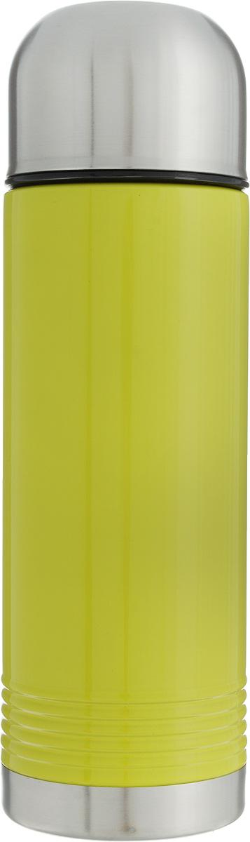 Термос Emsa Senator, цвет: лайм, серый, 700 мл115610Термос Emsa Senator имеет прочный корпус из нержавеющей стали. Модель снабжена герметичной пластиковой пробкой, которая предотвращает выливание содержимого. Крышка с внутренним пластиковым покрытием удобно завинчивается и может послужить в качестве чашки для напитков. Термос сохраняет напиток горячим 12 часов, холодным - 24 часа. Диаметр горлышка: 4,5 см. Диаметр основания: 8 см. Высота термоса (с учетом крышки): 26,5 см.Размер крышки: 8 х 8 х 6 см.