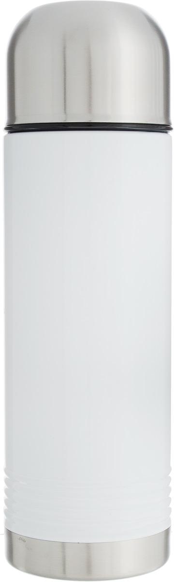 Термос Emsa Senator, цвет: белый, серый, 700 мл115510Термос Emsa Senator имеет прочный корпус из нержавеющей стали. Модель снабжена герметичной пластиковой пробкой, которая предотвращает выливание содержимого. Крышка с внутренним пластиковым покрытием удобно завинчивается и может послужить в качестве чашки для напитков. Термос сохраняет напиток горячим 12 часов, холодным - 24 часа. Диаметр горлышка: 4,5 см. Диаметр основания: 8 см. Высота термоса (с учетом крышки): 26,5 см.Размер крышки: 8 х 8 х 6 см.