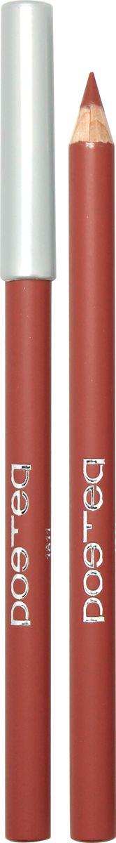 Poetea контурный карандаш для губ , тон 110003934Ухаживающая формула мягких карандашей для губ POETEQ основана на натуральных восках и масле ЖОЖОБА холодного отжима, не содержит минеральных масел и парафина. Масло жожоба питает кожу губ и регулирует водно-липидный баланс, защищая от сухости и предотвращая шелушение. Формула контурного карандаша обогащена витамином Е природного происхождения, который защищает кожу от преждевременного старения, питательным касторовым маслом и экстрактом листьев алое, снимающим раздражения. Карандаш легко скользит, оставляя мягкий кремовый след, который легко растушевывается сразу после нанесения, создавая комфортную основу для нанесения блесков или помад. Через несколько секунд полимерные компоненты застывают, образуя стойкий контур, который легко удаляется жидкостью для снятия макияжа с глаз и губ.