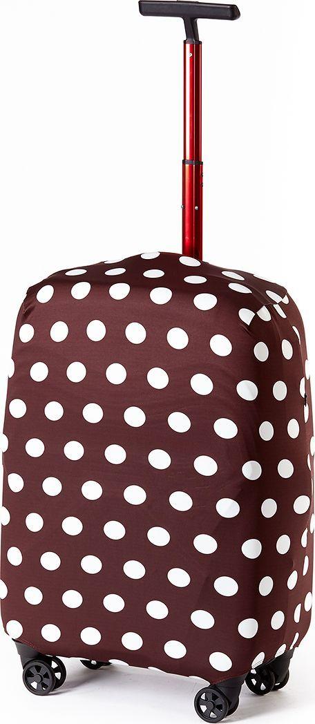 Чехол для чемодана Ratel Горох, цвет: шоколадный. Размер L (75-84 см)BP-001 BKСтильный и практичный чехол RATEL создан для защиты Вашего чемодана. Размер L предназначен для больших чемоданов высотой от 75 см до84 см. Благодаря очень прочной и эластичной ткани чехол RATEL отлично садится на любой чемодан. Все важные части чемодана полностью защищены, а для боковых ручек предусмотрены две потайные молнии. Внизу чехла - упрочненная молния-трактор. Наличие запатентованного кармашка служит ориентиром и позволяет быстро и правильно надеть чехол на чемодан. Ткань чехла – приятна на ощупь, легко стирается и долго сохраняет свой первоначальный вид. Назначение чехла RATEL: Защищает чемодан от пыли, грязи иразных повреждений.Экономит Вашиденьги и время на обмотке пленкой чемодана в аэропорту. Защищает Ваш багаж от вскрытия. Предупреждает перевес. Чехол легко и быстро снять с чемодана и переложить лишние вещи,в отличие от обмотки. Яркая индивидуальность. Вы никогда не перепутаете свой чемодан счужим как на багажной ленте в аэропорту, так ив туристическом автобусе. Легкийи компактный, не добавляет веса, не занимает места. Складывается сам в себя.Характеристики:Тип: чехол для чемоданаРазмер чемодана: М (высота чемодана: 75 см. - 84 см.) Материал: Бифлекс, плотность - 240 грамм.Тип застежки: молнияСтрана изготовитель: РоссияУпаковка: пакетРазмер упаковки: 20 см. х 1,5 см. х 16 см. Вес в упаковке: 200 грамм.