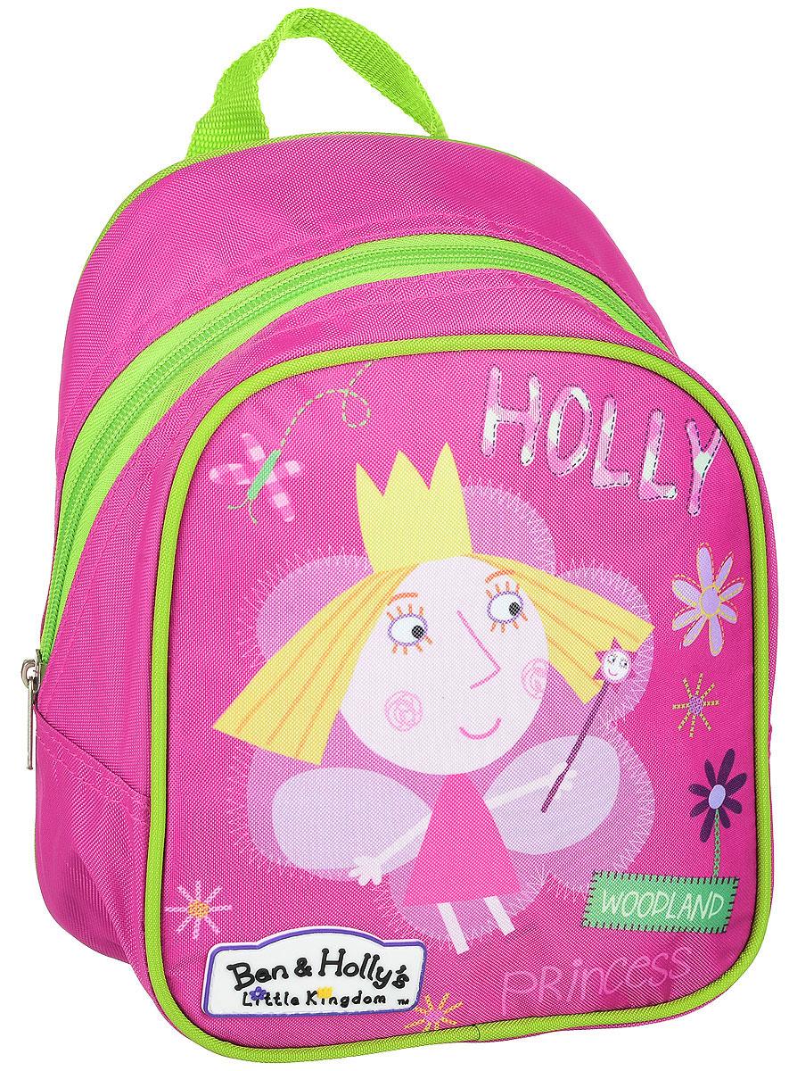 Ben&Holly Рюкзак дошкольный цвет розовыйVS16-SB-001Рюкзак дошкольный Ben&Holly- это красивый и удобный аксессуар для вашего ребенка. В его внутреннем отделении на молнии легко поместятся не только игрушки, но даже тетрадка или книжка. Благодаря регулируемым лямкам, рюкзачок подходит детям любого роста. Удобная ручка помогает носить аксессуар в руке или размещать на вешалке. Износостойкий материал с водонепроницаемой основой и подкладка обеспечивают изделию длительный срок службы и помогают держать вещи сухими в дождливую погоду.Аксессуар декорирован ярким принтом (сублимированной печатью), устойчивым к истиранию и выгоранию на солнце.