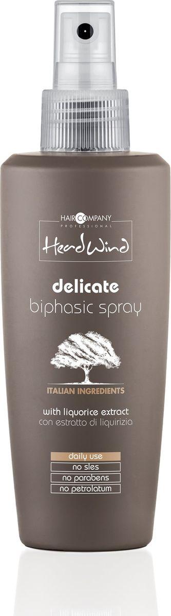 Hair Company Professional Head Wind Delicate Biphasic Spray Мягкий двухфазный спрей, 200 млMP59.4DДвухфазный спрей Hair Company Head Wind освобождает волосы от загрязнения, наполняет питанием и оживляет их. Волосы приобретают сияние и шелковистость, становятся более послушными. Экстракт итальянской солодки смягчает и снимает воспаления. Спрей Хэя Компани Хэд Винд отлично подходит для ломких волос. Способ применения:Встряхните флакон, распылите средство и высушите волосы. Не смывайте. Объем: 200 мл