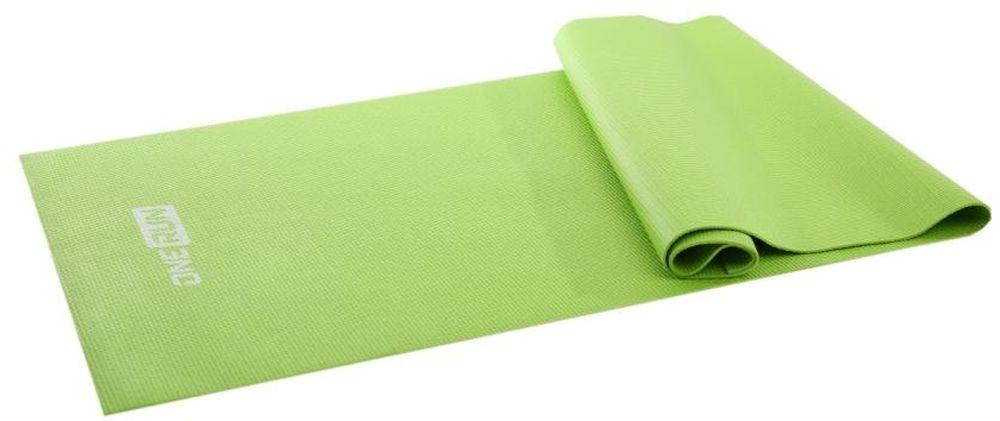 Коврик для йоги и фитнеса OneRun527Очень компактный и легкий коврик. Отлично подходит для занятий йогой, пилатесом или других физических упражнений на полу. Коврик имеет прочную нескользящую поверхность, легко моется и быстро сохнет. Размер: 173 х 61 см Толщина: 3 мм. Отличный подарок для любителей йоги