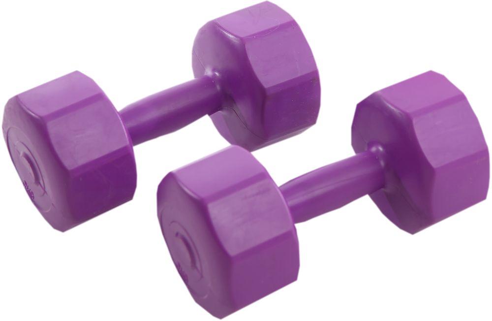 Гантели виниловые OneRun, 3 кг, 2 шт21-0471 PГантели идеально подходят домашних тренировок и служат для укрепления мышцы рук, груди и плеч. Внешняя оболочка привлекательной расцветки сделана из прочного ПВХ, наполнитель - композитная смесь цемента и песка. Гантели имеют специальную форму, которая предотвращает качение. Две гантели по 3 кг.