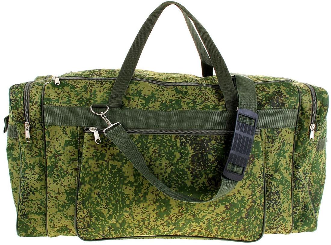 Сумка дорожная ZFTS, цвет: зеленый. 1032545RivaCase 8460 blackМодная дорожная сумка предназначена для тех, кто собирается в путешествие или деловую поездку.В большое отделение вместятся необходимые вещи: от нижнего белья до верхней одежды. А удобные карманы предназначены для хранения предметов первой необходимости: косметички, зубной щётки или влажных салфеток. Теперь не надо будет перерывать весь багаж в поисках нужной вещи! Порядок в сумке поможет всегда быть в курсе того, где и что лежит.Модель оснащена широкими ручками и длинным съёмным ремнём для комфортной переноски. Дорожный аксессуар прослужит много лет, так как изготовлен из прочного текстиля, устойчивого к выцветанию.