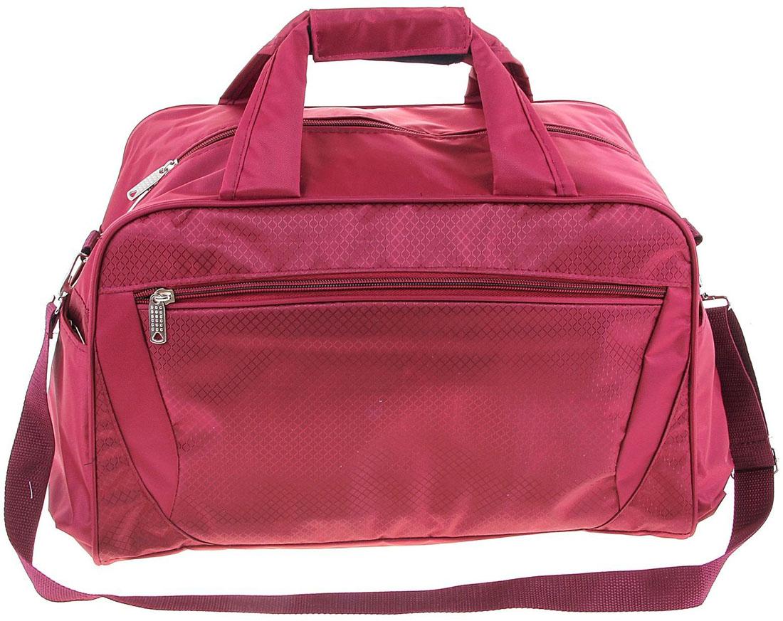 Сумка дорожная ZFTS, цвет: розовый. 1070456BM8434-58AEКаждый третий путешественник называет дорожную сумку-трансформер самым современным и демократичным вариантом аксессуара.Объёмное отделение сумки вмещает все необходимые вещи: от нижнего белья до верхней одежды. Продуманная система застёжек-молний помогут увеличить объём сумки и при необходимости положить гораздо больше предметов!Это удобно, когда вы едете в отпуск и собираетесь устроить себе шоппинг. Уезжаете налегке, а на обратном пути увеличиваете сумку в объёме. Теперь в багаж поместятся все милые безделушки, сувениры и подарки, которые вы приобрели!