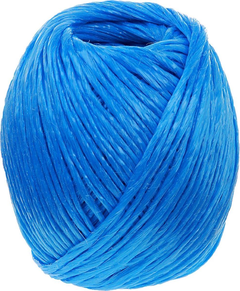 Шпагат полипропиленовый Банные Секреты, цвет: синий, 110 м531-401Шпагат полипропиленовый, 110 м, цвет синий представляет собой изделие, которое используется для бытовых и технологических нужд в различных отраслях производства. В хозяйстве его используют для сушки белья, вместо верёвки, для упаковки вещей, при хранении овощей. Изделие обладает большой прочностью. Изготавливается из очень качественного сырья первичного производства путём скручивания. Он является достаточно тонким, но при этом выдерживает большое давление. Вместе с тем шпагат имеет определенные достоинства: небольшая стоимостьустойчивость к разрывам и растяжениямустойчивость к температурным сдвигамбольшая влагостойкостьхорошие теплоизоляционные свойства. Выбирайте надёжные товары по привлекательной цене