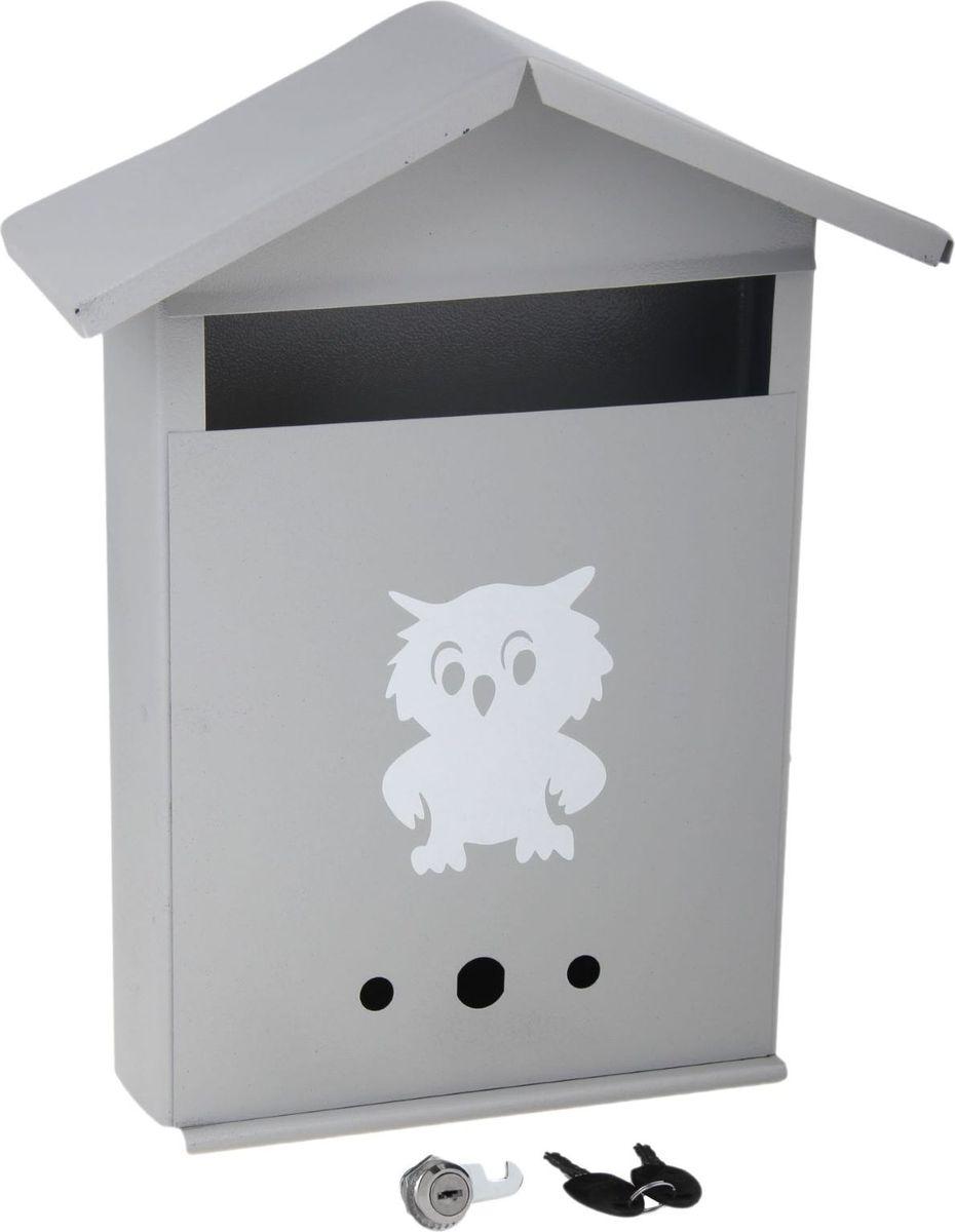 Ящик почтовый Домик, с замком, цвет: серый, 28 х 36 х 10 см531-401Используйте почтовый ящик для получения корреспонденции, счетов, журналов в загородном доме или на даче. Он компактный, вместительный и прослужит вам долгие годы. Особое порошковое напыление защищает поверхность от царапин. Изделие не ржавеет от дождя и снега. На задней стенке корпуса есть специальные отверстия для крепления. Замок-щеколда отвечает за сохранность содержимого.