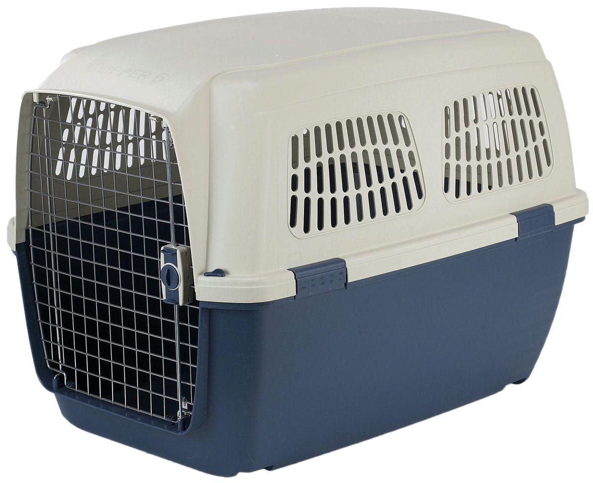 Переноска для животных Marchioro Cayman 5, цвет: синий, бежевый, 82 х 57 х 60 смSC-FD421005Marchioro переноска Cayman 5 для собак сине-бежевая.Переноска с боковой дверью применяется для транспортировки животных. Соответствует стандартам Международной ассоциации воздушного транспорта (IATA) и прекрасно подходит для перевозки животного в самолете.Корпус клетки выполнен из пластика, дверка закрывается на нержавеющий замок, пол переноски усилен. Подходит для животных весом 15 – 40 кг (Бульдог, Хаски, Шнауцер, Чау-чау, Лабрадор) Предусмотрена дополнительная комплектация: колеса для перевозки, ремень, поилка, решетка на дно (продаются отдельно).Цвет сине-бежевый.Вес 6 кг., размер 82х57х60h.