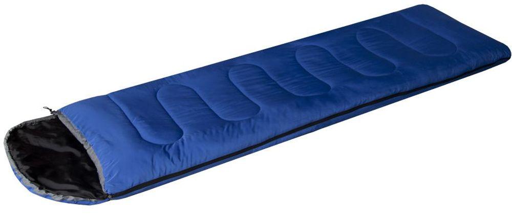 Спальный мешок-одеяло Prival Camp Bag, цвет: синий, черный, правосторонняя молнияATC-F-01Спальный мешок Сamp bag (Prival) – недорогая, качественная модель из серии спальных мешков выпускаемых под товарным знаком Prival. Данная модель прекрасно подойдет любителям активного отдыха в летнее время. Спальный мешок Сamp bag представляет собой удобное комфортное одеяло средних размеров с подголовником. Компактно упаковывается, имеет малый вес.Верхняя температура комфорта, °С:+22Нижняя температура комфорта, °С:+17Нижняя экстримальная температура, °С :+10 Характеристики:Тип спального мешка: Одеяло с подголовникомМатериал внешней ткани: ПолиэстрМатериал внутренней ткани: НейлонНаполнитель: файберпластДлина: 220 смШирина: 75 смВес: 1,1 кгУпаковка: Упаковочный мешокРазмеры в свернутом виде (ДхШхВ): 35 х 25 см.