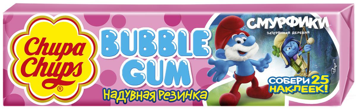 Chupa-Chups Babbly Gum Смурфики-3 жевательная резинка, 24 штук по 21 г0120710Оригинальная жевательная резанка Chupa Chups Big Babol подарит вам незабываемые ощущения от яркого фруктового вкуса и огромные пузыри, которыми так любят баловаться взрослые и дети. Надуваемый пузырь настолько огромен, что может закрыть лицо от посторонних глаз.