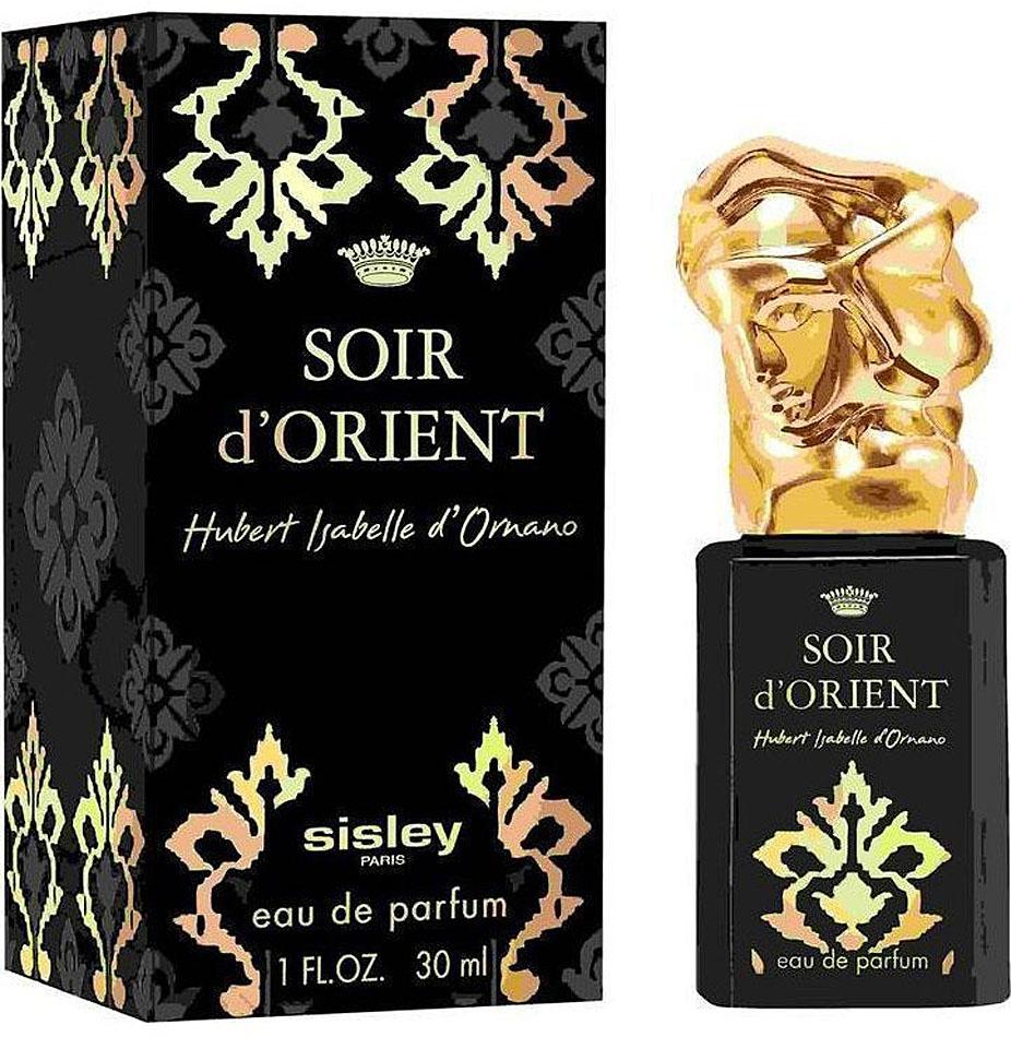 Sisley Soir Dorient Woman парфюмированная вода, 30 млперфорационные unisexВосточные. Гальбанум, лимон, шафран, ладан, пачули, сандаловое дерево, : герань, перец, роза